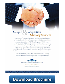 Merger and Acquisition button